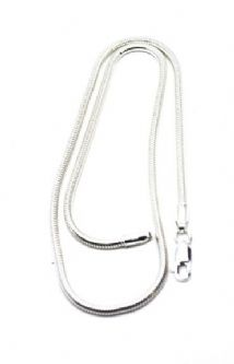 "Silver 16"" Snake Chain 925"